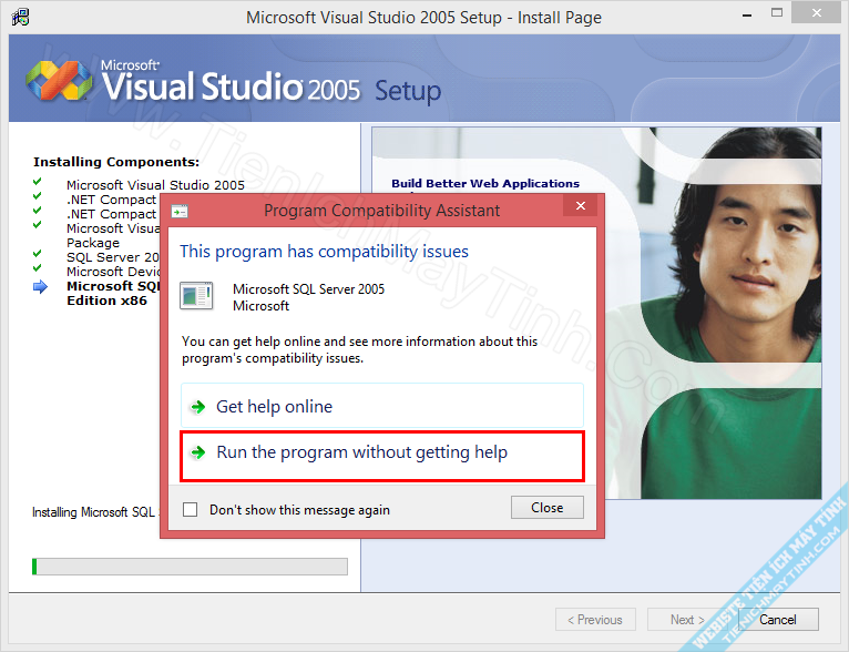 how to run opengl program in visual studio
