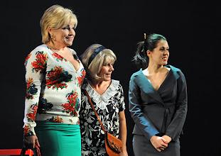 Photo: WIEN/ Kammerspiele: CHUZPE von Lily Brett. Premiere am 22.11.2012. Inszenierung: Dieter Berner. Grazyna Dylag, Gabriele Schuchter, Daniela Golpashin. Foto: Barbara Zeininger.