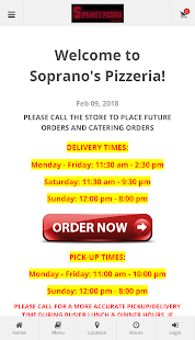Soprano's Pizzeria NJ- screenshot thumbnail