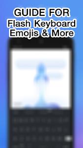 Guide Flash Keyboard Emojis screenshot 2