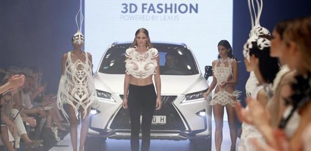 На показе мод от Voxelworld продемонстрировали только напечатанные на 3D-принтере модели
