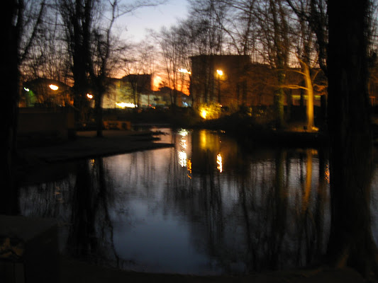 Laghetto al tramonto di Roccia83