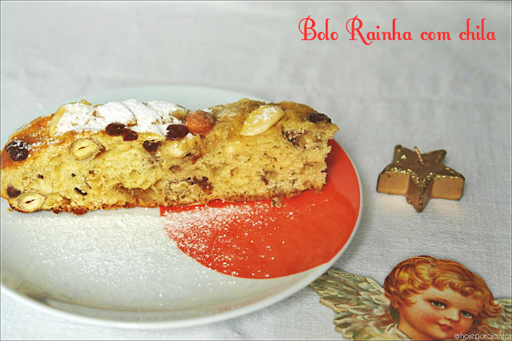 Fat Free Queen Cake with Squash Stuffing