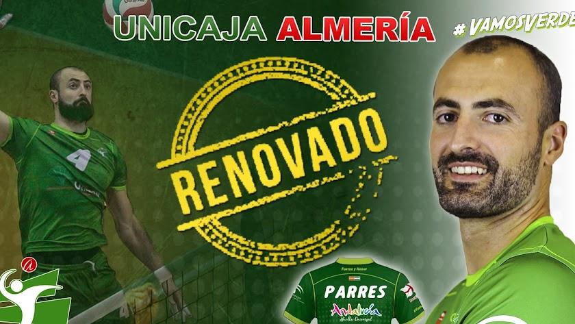 Manuel Parres continúa en el Unicaja Almería.