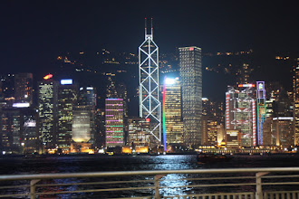 Photo: Day 195 -  Lights on HK Island