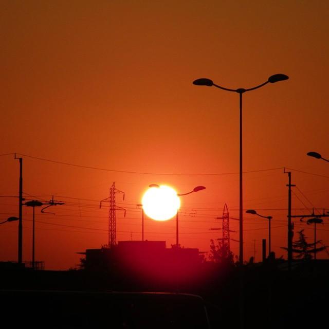 #tramontourbano   di oraeancora