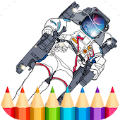 Space Game Coloring Book Android APK Download Free By Infokombinat