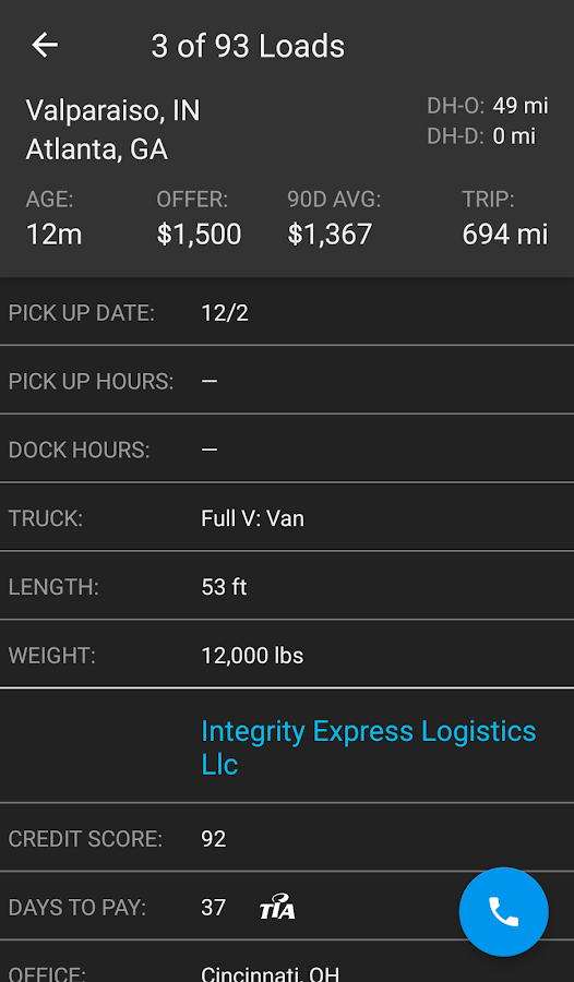 Dat Load Board For Truckers Android Apps On Google Play