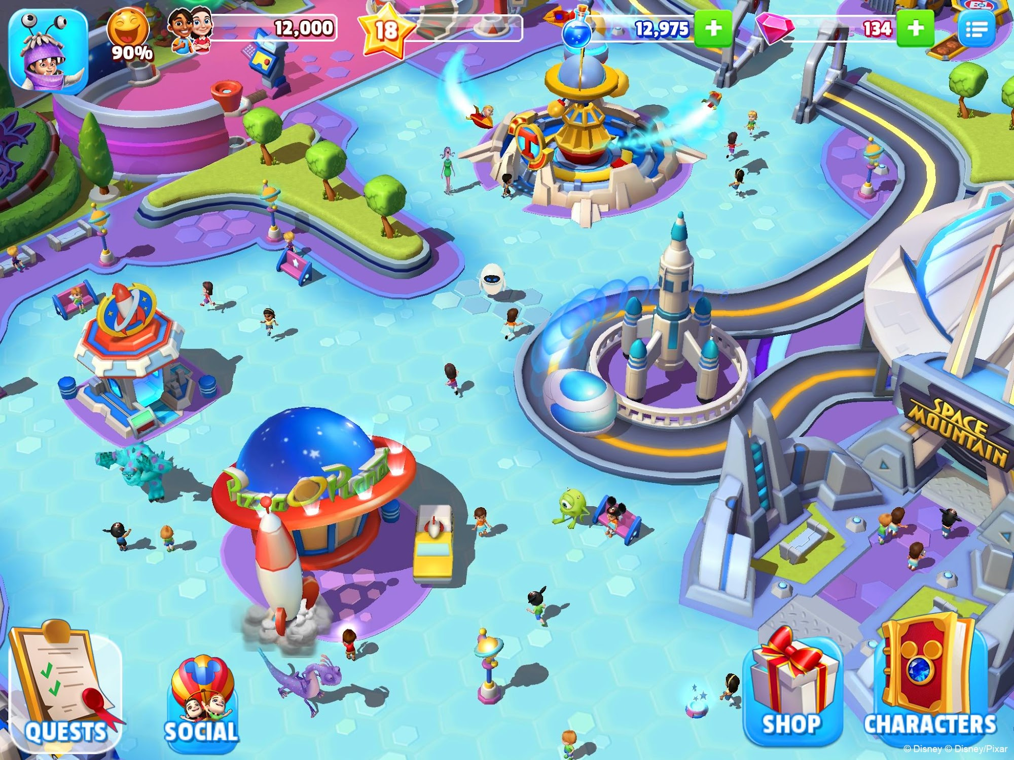 Disney Magic Kingdoms screenshot #6
