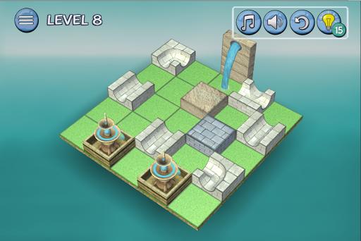 Flow Water Fountain 3D Puzzle Screenshots 2