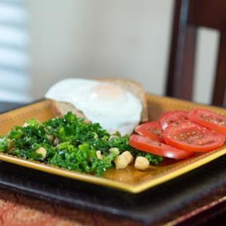 Garbanzo Kale Salad.
