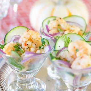 Shrimp Scampi Ceviche