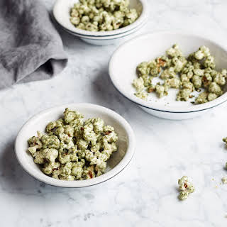Spirulina Popcorn.