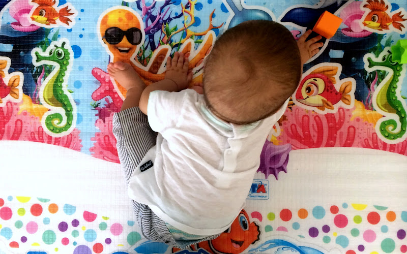 il tappeto colorato di Mihaela Robu