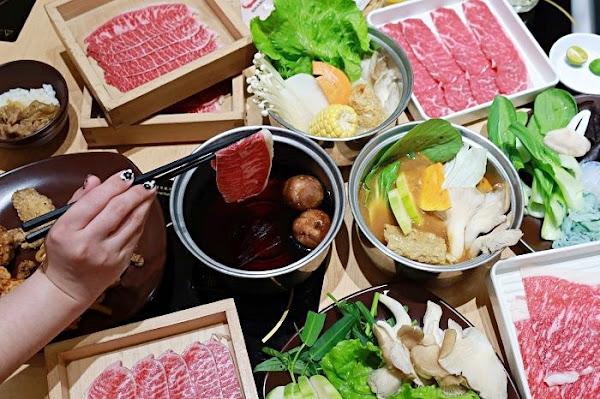 SHABUSATO涮鍋里日式涮涮鍋台南西門店 台南吃到飽 愛吃肉的朋友不要錯過,澳洲和牛吃到飽!
