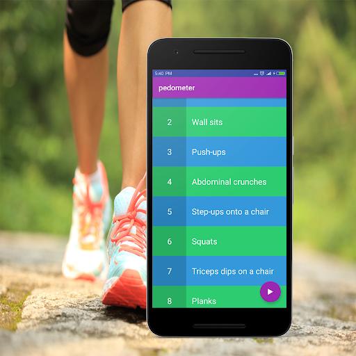 Steps Counter-Fitness & Calorie Counter Pedometer 1.4 screenshots 8