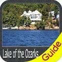 Lake of the Ozarks GPS Offline Fishing Charts icon