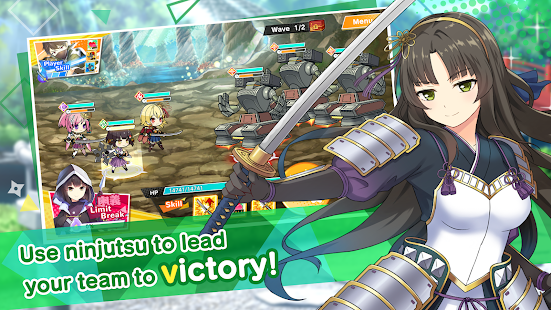Mod Game Moe! Ninja Girls RPG: SHINOBI for Android
