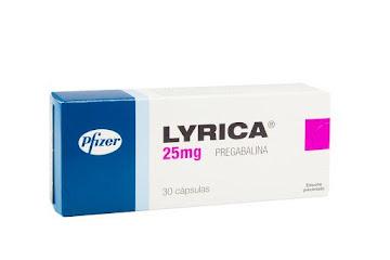 LYRICA 25mg Cápsulas   Caja x30Cap. PFIZER Pregabalina