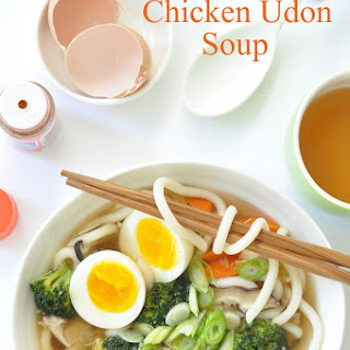 Chicken Udon Soup.