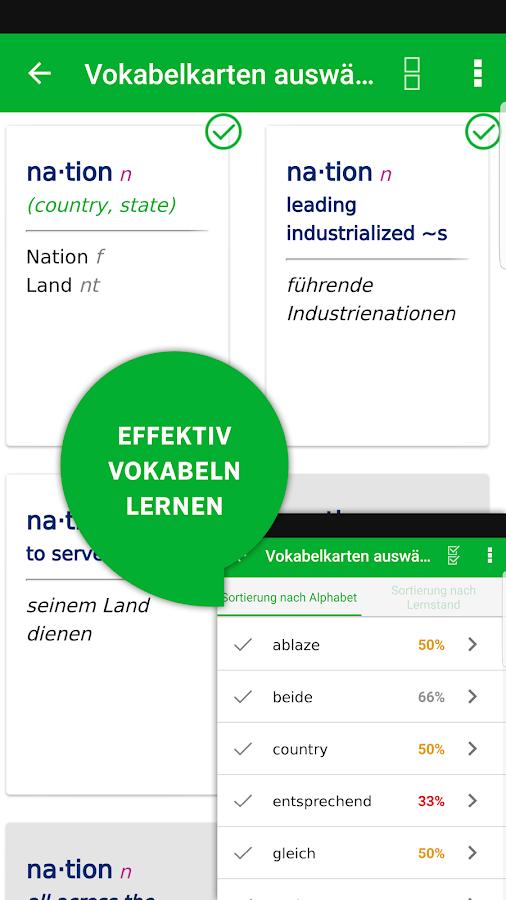 W rterbuch englisch deutsch advanced von pons android for Von deutsch auf englisch