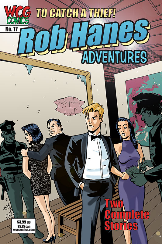 Cover to Rob Hanes Adventures #17