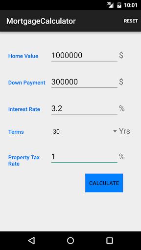 Mortgage Calculator Demo