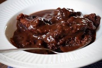 Micro Chocolate Pudding Cake Recipe