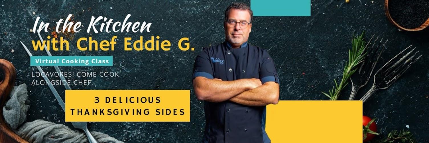 In the Kitchen with Chef Eddie G. (3 Thanksgiving Sides)