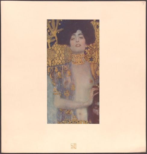 Salome after Gustav Klimt, plate 19, The work of Gustav Klimt