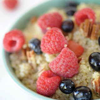Quinoa Breakfast Bowl.
