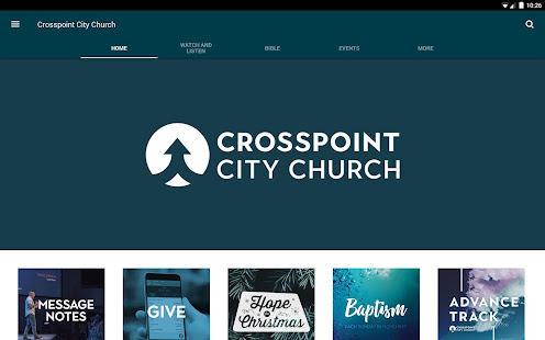 Crosspoint City Church Apps On Google Play