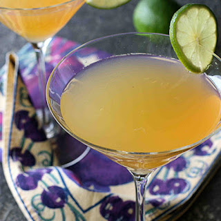 Passionfruit & Lime Gin Martini