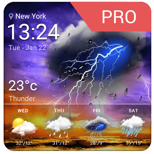 Accurate Weather Report Pro Icon
