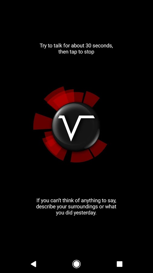 Vocular - How deep is your voice?- screenshot