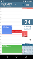 Screenshot of aCalendar - Android Calendar