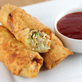 Chicken Egg Rolls.