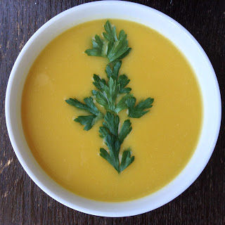 Butternut squash, Savoy cabbagde, White beans and Chayote soup.