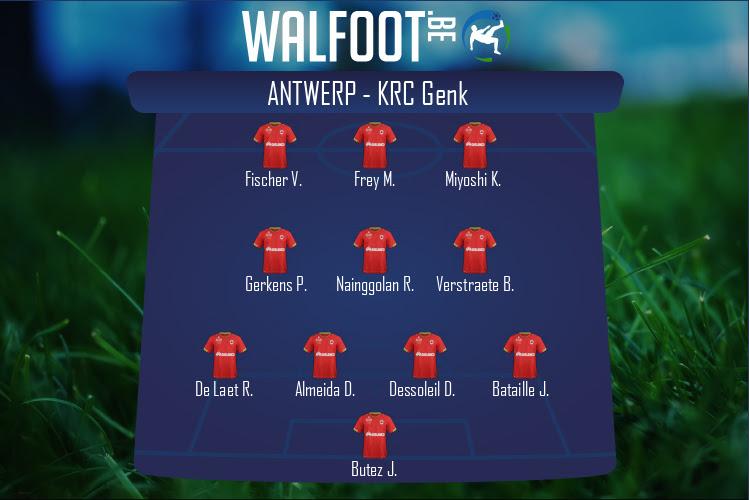Antwerp (Antwerp - KRC Genk)