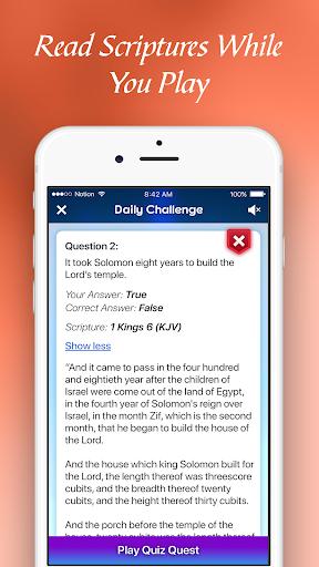 BibleMania - Christian Trivia 1.1.0 Cheat screenshots 2