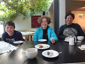 Photo: We had some tea and cake in Skalholt