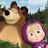 Masha and the Bear. Educational Games logo