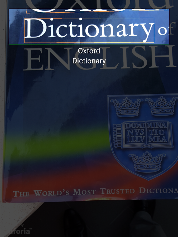 Concise Oxford American Thesaurus- screenshot