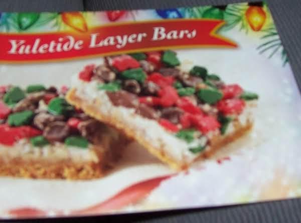 Yuletide Layer Bars Recipe