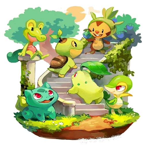 App Insights Grass Type Pokemon Wallpapers Apptopia