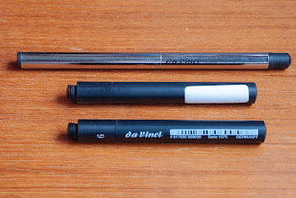 Photo: da Vinci Maestro Voyage Pocket Travel Watercolour Brush