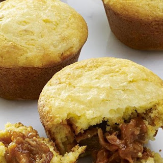 BBQ Pork-Stuffed Corn Muffins