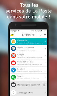 La poste services postaux applications android sur for La poste reexpedition courrier temporaire