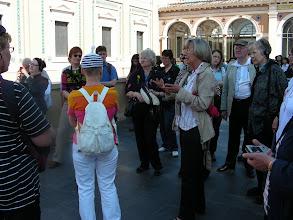 Photo: 005 Vatikaanissa oppaanamme Silja Tuominen.