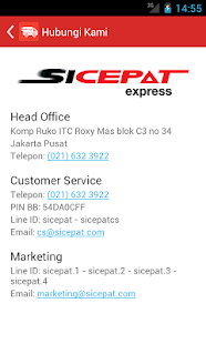 SiCepat Express- gambar mini screenshot